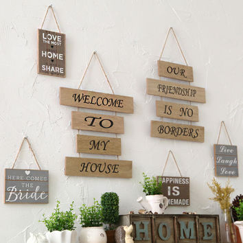 Adornment Wall Hanging Plaque