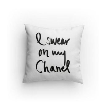 I swear on my C Fashion Decorative Pillow