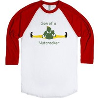 Son of A Nutcracker-Unisex White/Red T-Shirt