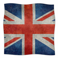 KESS InHouse UK Union Jack Flag by Bruce Stanfield Fleece Blanket