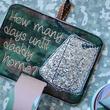 Deployment Countdown - Soldier / Military / Long Distance Relationship