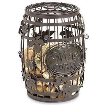 Wine Barrel Cork Cage by Epic Products