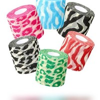 Pre-wrap Safari Six (Mixed Pack of Sports Foam Underwrap)