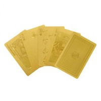 Gold Playing Cards - Gift