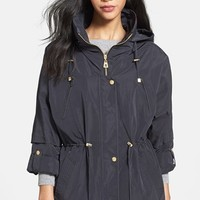 Women's Cole Haan Dolman Sleeve Rain Jacket,