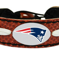 New England Patriots Classic Football Bracelet