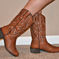 """""""She's Country"""" Cowboy Boots"""