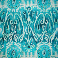 OUTSTANDING IKAT TEXTILE ~ COLOR: MARINE, AS SEEN ON THE BACHELORETTE!