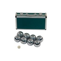 Superior Boule Set of 8 - Strong Metal Framed Case Petanque Set