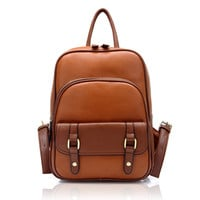 Womens Vintage Style Backpack for Summer