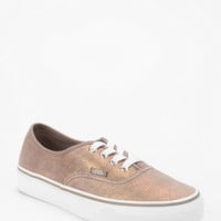 Vans Shimmer-Suede Authentic Low Pro Sneaker