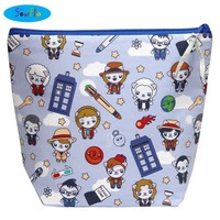 Large Wedge Knitting Bag-Doctor Who Cuties-NEW!