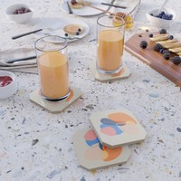 Modern minimal forms 38 Coaster by naturalcolors