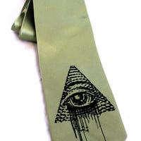 Cyberoptix All Seeing Eye Tie