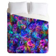 Lisa Argyropoulos Colour Aquatica Berry Blue Duvet Cover