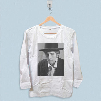 Long Sleeve T-shirt - Bob Dylan