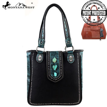 Montana West MW129G-8561 Concealed Carry Handbag
