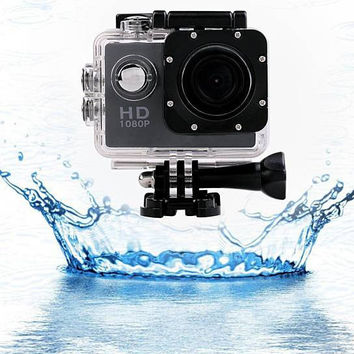 Cool All PRO HD 1080P Action Sports Camera with Waterproof Accessory Pack