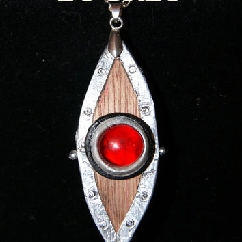 Locket Opens Up- Replica of  Prop from House of Anubis  Like Ninas Eye of Horus Necklace