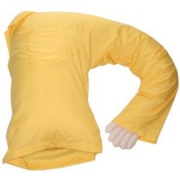 Boyfriend Pillow, Yellow Shirt