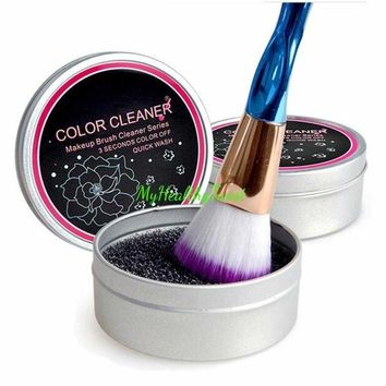 Brush Cleaner Eyeshadow Sponge Shadow Switch Solo Color Makeup Remover Dry Box 711583416286