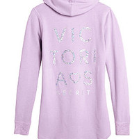 Graphic Fleece Tunic - Victoria's Secret