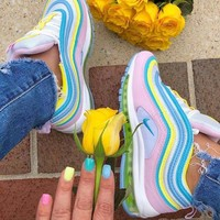 Nike Air Max 97 Rainbow Sneakers Shoes