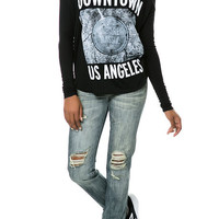 The DTLA Streets LS Thermal in Black and White