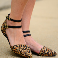 The Diane Sandal, Leopard