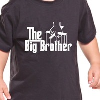 The Big Brother T-Shirt Daddy pregnant Movie parody Funny sister Christmas Gift dad Tee Shirt Tshirt Mens Womens Kids MADLABS ML-455