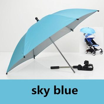 DCCKL3Z 2016 Baby Stroller Accessories yoya sunshine Umbrella Colorful baby Children Pram Shade Parasol Adjustable Folding For Chair