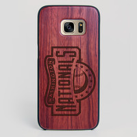 Washington Nationals Galaxy S7 Edge Case - All Wood Everything