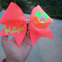Worlds & Summit cheer bow