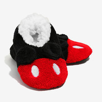 Disney Mickey Mouse Ears Cozy Slippers