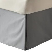 Solid Bedskirt (Full) Gray - Room Essentials™ : Target