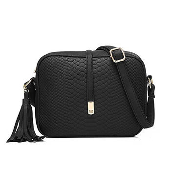 Realer Small PU Leather Purses Cross Body and Handbags with Shoulder Strap for Women