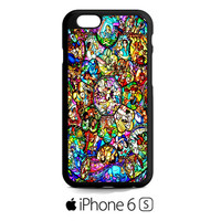 all characters disney stained glass iPhone 6S  Case