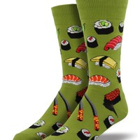 Sushi Men's Socks - Fern by Socksmith