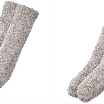 Fluffy Cozy Reading Socks™ - Grey by Indigo | Womens Reading Socks Gifts | chapters.indigo.ca