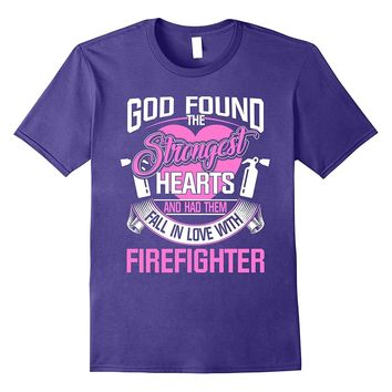 Best Shirt For Wife From Firefighter Husband. Cool Gift Idea