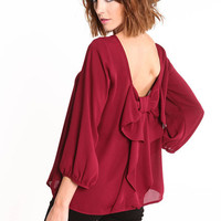 ROMANTIC BOW BLOUSE