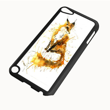 Splash Watercolor Fox iPod Touch 5 | 4 Case