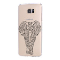 Tribal Elephant Samsung Galaxy s6 case, Galaxy S6 Edge Case, Galaxy S5 case C042