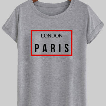 london paris shirt