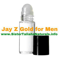 Jay Z Gold all natural fragrance cologne for men teens fresh light summer spring great smell free perfect gift shipping non irritating