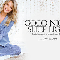 Sleepwear: Women's Sleepwear & Loungewear in Silk, Satin, Flannel, & Cotton at Victoria's Secret