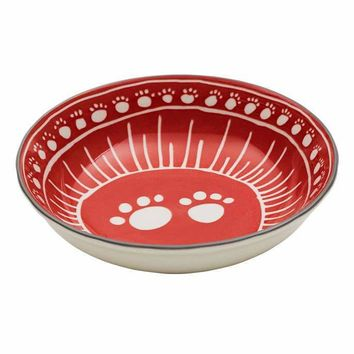 Avalon Ceramic Bowl - Paw