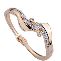 Stylish Great Deal Shiny Awesome Gift New Arrival Bangle Diamonds Hot Sale Luxury Jewelry Bracelet [6573072583]