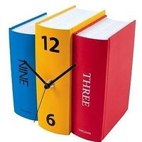 Contemporary Bookshelf Clock
