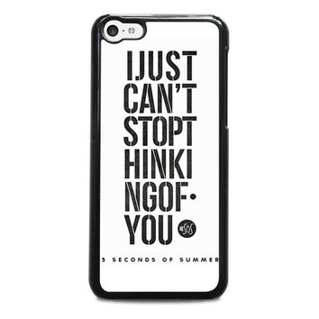 5 seconds of summer 6 5sos iphone 5c case cover  number 1